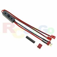 FUTABA HIGH POWER ON/OFF ELECTRIC SWITCH HARNESS ESW-1D T-DEANS TO RX EBA0324