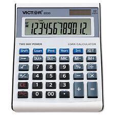 Victor 6500 Executive Desktop Loan Calculator 12-Digit LCD