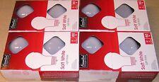 New listing 60 Watt Essential Everyday Soft White A19 Incandescent Light Bulbs 4 - 4 Packs