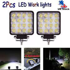 LED WORK LIGHT BAR FLOOD SPOT OFFROAD FOG DRIVING LAMP WHITE BOAT JEEP UTE SUV