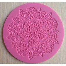 Lace Silicone Mold Mould Sugar Craft Fondant Mat Cake Decorating Baking