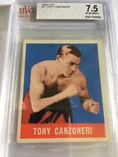 1948 Leaf Boxing Tony Canzoneri #77 BVG 7.5