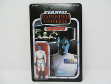 "Grand Admiral Thrawn vintage-style Star Wars carded SLC custom 3.75"" figure"