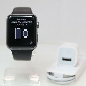 Apple Watch Series 3 - 42mm  GPS + LTE Cellular UNLOCKED - Black Smartwatch