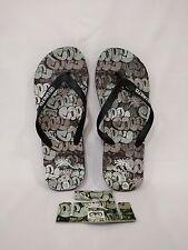 Ecko Unltd The Exhibit Cope2 Zoorie Sandals Flip Flops - X-Large (12/13)