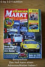 Oldtimer Markt 10/00 MG TC Dino 246 Fridolin Audi Opel