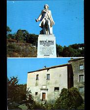 MOROSAGLIA (CORSE) MONUMENT & MAISON de Pascal PAOLI en 1975