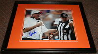 Coach John Fox Signed Framed 8x10 Photo Broncos Panthers