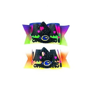 Dog Hair Bows- Halloween Wickedly Cute Pet Bow Rhinestone Witch Hat Candy Corn