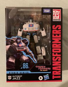 Transformers Studio Series Movie Jazz 86-01 In Hand Case Fresh Hasbro Takara