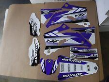 FLU DESIGNS PTS3 TEAM GRAPHICS YAMAHA YZ250F YZ450F YZF250 YZF450  2006 2007