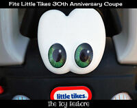 Replacement Decals fits 30th Little Tikes Cozy Coupe Car Green Eye Pupil Custom