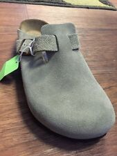 Birkenstock Taupe Boston Narrow Soft Footbed 36 - 41 - 43 - 44