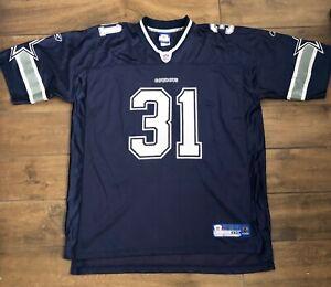 Reebok NFL Players Equipment Cowboys #31 Roy Williams Jersey Shirt Size XXL
