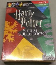 New! Harry Potter 8-Film Collection with Hogwarts Patches (8-Dvd Set, 2018)