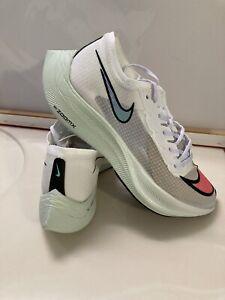 Nike Air Zoomx Vaporfly Next% Marathon Run Shoes AO4568 White Crimson Red Blue