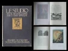 LE STUDIO MAGAZINE 1920 - BIRMINGHAM, JOSEPH SOUTHALL, GASKIN, JOHN BONNOR