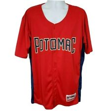 Potomac Nationals Jersey Red MILB Minor League Baseball Washington Nationals XL