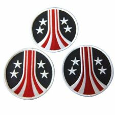 Alien Movie Stars and Bars Uscm Embroidered Patch Set of 3