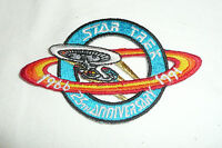 Star Trek The Next Generation Patch 25th Anniversary Enterprise D 1966-1991 TNG