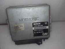 GM 90354094 Motorsteuergerät Opel Astra F C20NE GM Bosch 0261200538