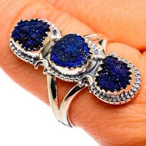 Lapis Lazuli 925 Sterling Silver Ring Size 9.5 Ana Co Jewelry R79820F