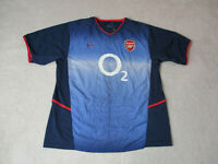 Nike Costel Arsenal Soccer Jersey Adult Extra Large Blue Red DriFit Futbol Men *