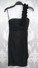 Black Short One Shoulder Evening Dress from Enfocus Studio  size 4