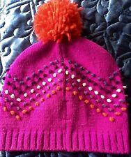 Mossimo Knit Hat Girls Kids Children Pink