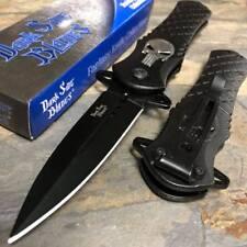 Dark Side Blades Black Punisher Fantasy Tactical Folding Collector Pocket Knife