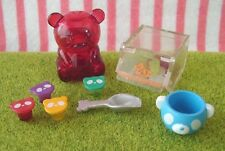 megahouse candy shop panda set miniature rement gummy bears