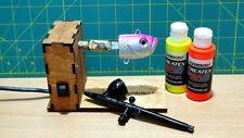 Lure rotisserie - fishing hard lure, jig head painting, coating, drying