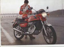 N°11345 / prospectus HONDA CX 500 texte français 1978