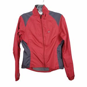 Pearl Izumi Womens sz sm whisper Soft Shell Full Zip Cycling Road Bike Jacket