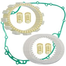 CLUTCH FRICTION PLATES and GASKET KIT Fits KAWASAKI BAYOU 300 KLF300 1986-2004