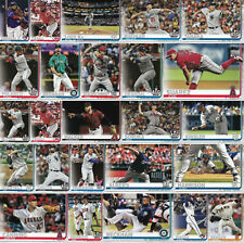 2019 Topps Update Baseball Cards Complete Your Set You U Pick List US1-US150