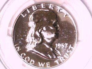 1957 Proof Franklin Half Dollar PCGS PR 66 29707679