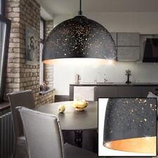Luxus Pendel Leuchte Wohn Ess Zimmer Decken Strahler Hänge Lampe SCHWARZ-GOLD