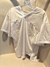 Yale Sportswear Adult Lacrosse Jersey 2 Ply White NEW