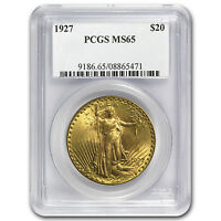 1927 $20 Saint-Gaudens Gold Double Eagle MS-65 PCGS - SKU #22519
