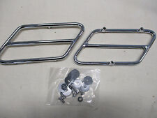 HARLEY FLH 1993 LAT TOURING SIDE COVER TRIM RAILS PROTECT PAINT CHROME