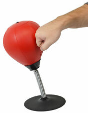 Desktop Punching Bag Stress Relief Boxing Novelty Gag White Elephant Gift NEW