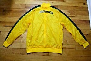 Team Jamaica men's Track & Field slicker jacket Olympics Puma size XL unused