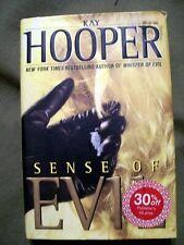 SENSE OF EVIL KAY HOOPER 2003 HARDCOVER