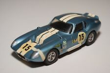 Q JOHN DAY FORD COBRA SHELBY DAYTONA 65 MET. BLUE NEAR MINT COND. KIT HAND BUILT