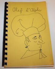 Vintage 1978 ALABAMA Cookbook - Alpha Delta Kappa - Teacher's Fraternity -Mobile
