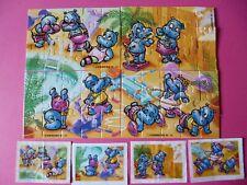 SUPER PUZZLES KINDER * Happy hippo * +les 4 BPZ  UE