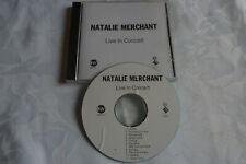NATHALIE MERCHANT - Live in concert - CD Album