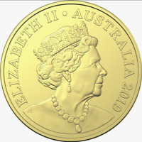 ⚡2x 2019 Australian $1 Dollar Coins Jc Effigy Irb Effigy Rare🇦🇺limited Edition