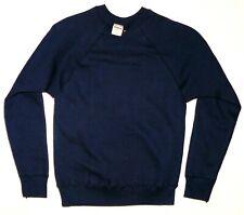 60s 70s vtg Nos Sweatshirt Wilson Sporting Goods old blank tshirt jacket Usa S